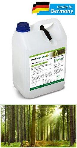 BioFair Sägekettenöl (5 Liter) aus 100% reinem Rapsöl-Vollraffinat - 2