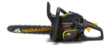 McCulloch 00096-67.669.36  Benzin-Kettensäge CS 390+ mit Nylon-Tasche, Kette, Handschuhe - 1
