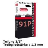 Sägekette Profi 3/8P-1,3-52 für 35cm Dolmar, Einhell, Makita - 1