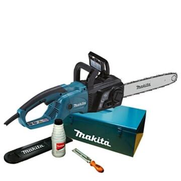 Makita Elektro-Kettensäge 40 cm mit Zubehör im Koffer, UC4051AK -