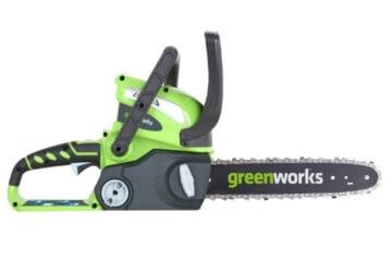 greenworks tools 20117 40v akku kettens ge 30cm ohne akku und lader elektro kettens ge test. Black Bedroom Furniture Sets. Home Design Ideas