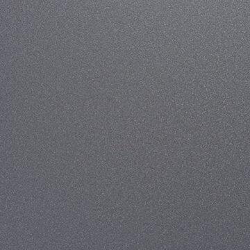 Cultmöbel Kaminholzständer anthrazit Kaminholzregal Zeitungsständer pulverbeschichtetes Metall dunkelgrau, Maße: (B/H/T) 31 x 35 x 35 cm - 3